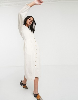 L.F. Markey Janne buttondown midi dress