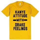 Skreened Kanye And Drake | XL T-Shirt