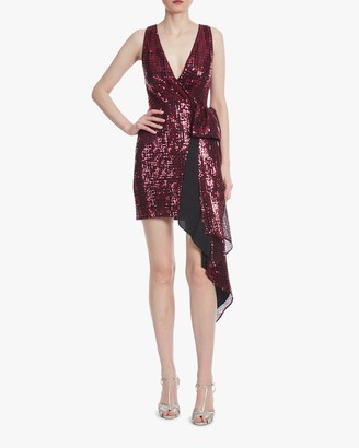 ONE33 SOCIAL Bow-Front Cocktail Dress