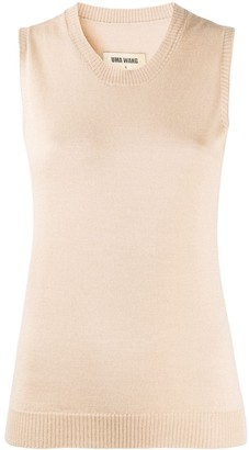 UMA WANG Sleeveless Knitted Top