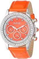 August Steiner Women's AS8018OR Multi-Function Dazzling Strap Watch
