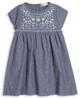 Design History Toddler's & Little Girl's Woven Chambray Dress