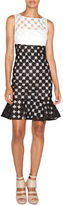 Nicole Miller Patterned Sheath Dress