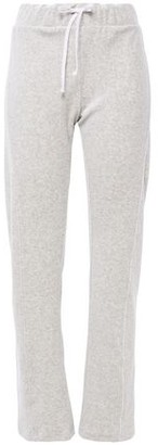 Wildfox Couture Melange Cotton-blend Fleece Track Pants