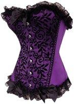 Sexy&angel High grade corset steel buckle Baroque corsets