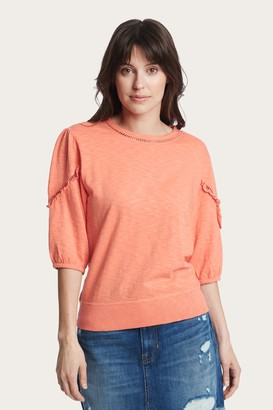 The Frye Company Puff Sleeve Top