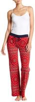PJ Salvage All American Scarf Print Pajama Pants