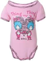Dr. Seuss Thing One And Thing Two Baby One Piece - 0- months