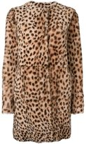 Drome reversible leopard print coat