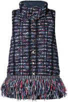 Coohem tweed down vest