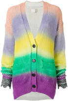 Zadig & Voltaire colour block cardigan