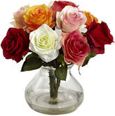Asstd National Brand Rose Arrangement With Vase