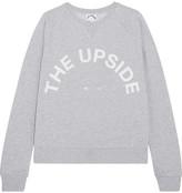 The Upside Printed Cotton-jersey Sweatshirt