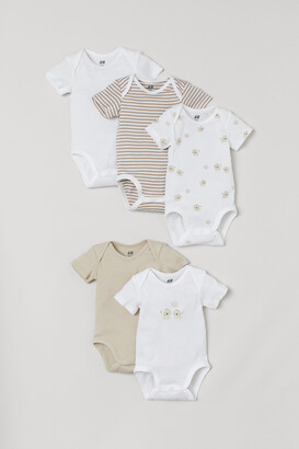 H&M 5-pack Short-sleeved Bodysuits