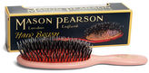 Mason Pearson NEW Pink Pocket Bristle & Nylon Brush