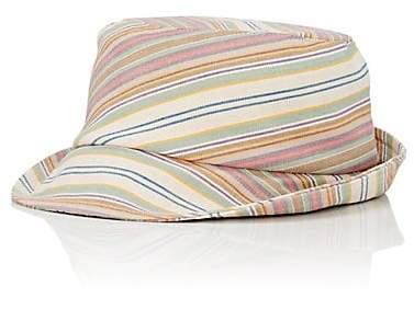 Jennifer Ouellette Women's Striped Bucket Hat - Neutral