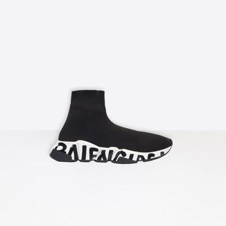 Balenciaga Speed Sneaker in black knit