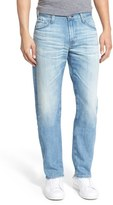 AG Jeans 'Graduate' Slim Straight Leg Jeans (24 Year White Washed)