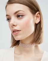 Asos Basic Lace Choker Necklace