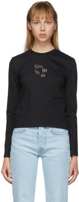 Ader Error Black Tort.holl Long Sleeve T-Shirt