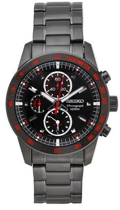 Seiko Men's SNAD91 Stainless Steel Analog with Dial Watch