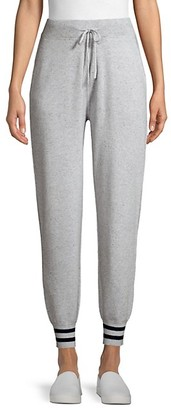 Saks Fifth Avenue Snowglobe Varsity Stripe Sweatpants