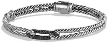 David Yurman Black Diamond Loop Bracelet
