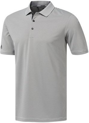 adidas Men's Climalite Striped Performance Polo