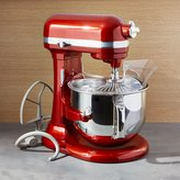 Crate & Barrel KitchenAid ® Pro Line Candy Apple Red Stand Mixer
