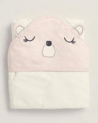 Baby Essentials Chick Pea (Newborn Girls) Pink Bear Hooded Towel