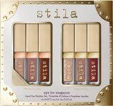 Stila Glitter and Glow and Shimmer and Glow Eye For Elegance liquid eyeshadow set