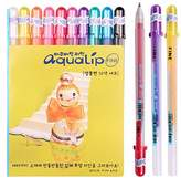 Sakura Pgb10c51 Aqualip 10-piece Gelly Roll Blister Card Gel Ink Pen Set, Fine Point, Assorted Colors by