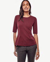 Ann Taylor Structured Peplum Top