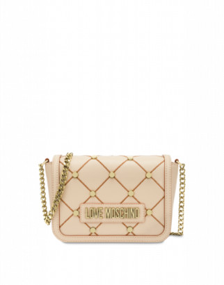 Love Moschino Clutch With Stars Woman Pink Size U It - (one Size Us)