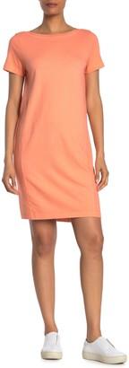 Michael Stars Hannah Boat Neck T-Shirt Dress