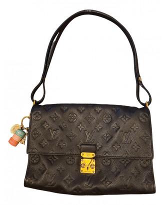 Louis Vuitton Saint-Germain Navy Leather Handbags