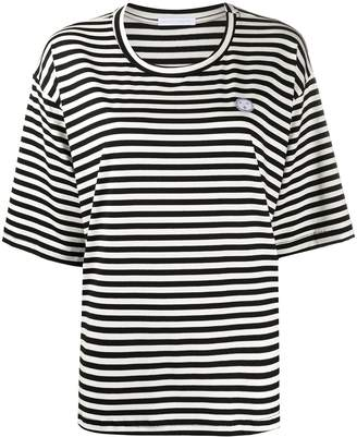 Societe Anonyme striped-print oversized T-shirt