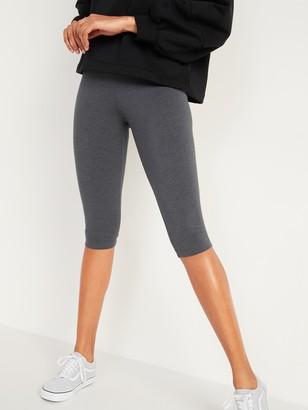 Old Navy High-Waisted Jersey Capri Leggings for Women