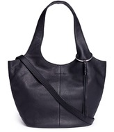 Elizabeth and James 'Finley' small tassel leather bag
