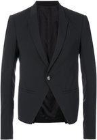 Rick Owens open front blazer - men - Cotton/Spandex/Elastane/Cupro/Virgin Wool - 50