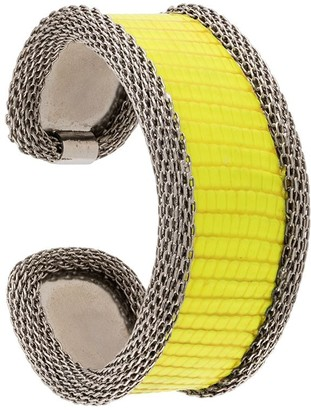 Gianfranco Ferré Pre Owned 2000s Snakeskin Effect Bangle