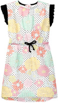Andy & Evan Floral Printed Eyelet Tunic (Toddler & Little Girls)