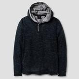 Burnside Boys' Thermal Knit Henley Shirt - Teal