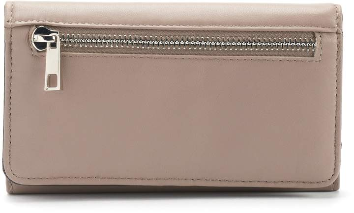 Apt. 9 Leather RFID-Blocking Trifold Clutch Wallet