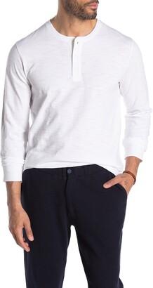 Vince Long Sleeve Henley T-Shirt