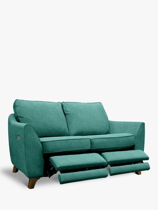 G Plan Vintage The Sixty Eight Small 2 Seater Sofa with Double Footrest Mechanism