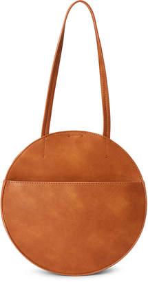 Street Level Brown Canteen Shoulder Bag