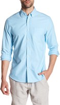 Slate & Stone Solid Oxford Trim Fit Shirt