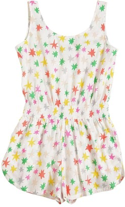 Stella McCartney Star Print Organic Cotton Overalls