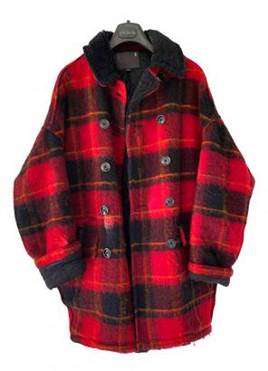 R 13 Multicolour Wool Coats
